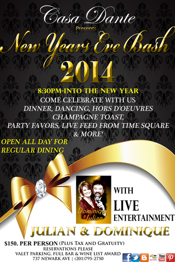 jersey city eats celebrate new years eve with your jersey city